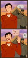 How Iroh's conversation should have gone. by bbandittt
