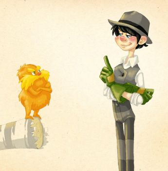 I'm the Lorax by Redundantthoughts