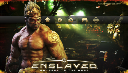 Enslaved: Ottw By olek21 PS3 by olek21