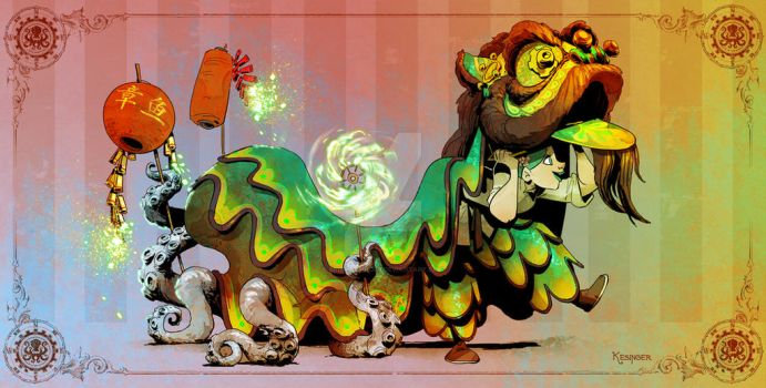 Happy Chinese New Year from Otto and Victoria! by BrianKesinger