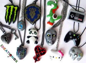 Assortment of Necklaces :) by Ideationox