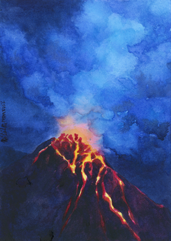 -Volcano 4- by RiEile