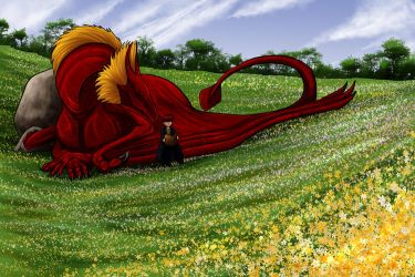 Keith's Dragon by shivaesyke