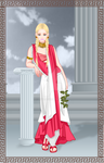 Charoline in Greek Outfit by DX17