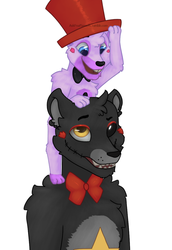 It's my hat now (fnaf smools) by QuelendUnderground
