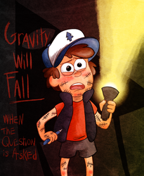 Gravity Will Fall by Arkham-Insanity