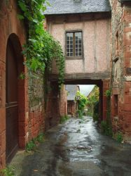 Collonges 22 - Porch by HermitCrabStock