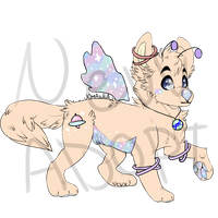 Space Doggo Adopt! [Closed] by KitseeNev