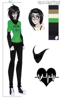 Kevin Heartbeat {CREEPYPASTA OC REFERENCE} by vintricktive