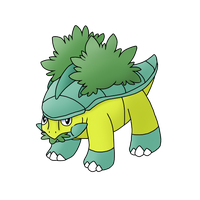 Shiny Grotle - Grass Type Collab