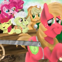 Fun with the Apples by gregeyman555