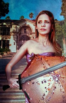 Buffy Summers, Class Protector by restfield