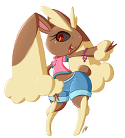 A Lopunny by Quarium