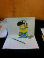 2013 drawing - Minion :) by nielopena