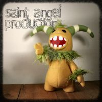Truman the Hairy, Horned Monster Plush by Saint-Angel