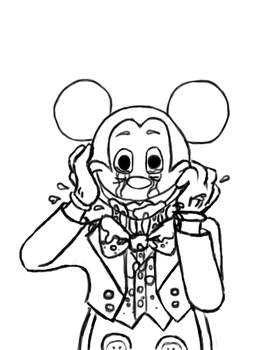 Abandoned by Disney WIP by Twitching-Dozi