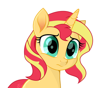 Sunset Shimmer in MLP:the Movie by Alina-Brony29