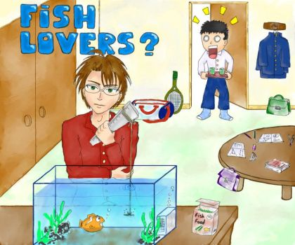 PoT - Fish Lovers by dussydelf