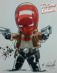 Red Hood by Wild-Inx