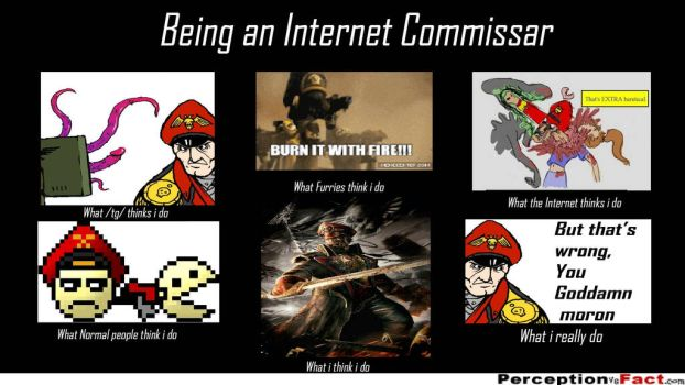 Being an Internet Commissar by SPARTAN-180