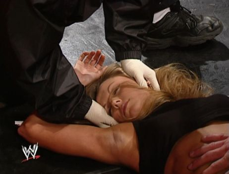 Stacy Keibler Unconscious 5 (Raw 01/20/2003) by ryko88