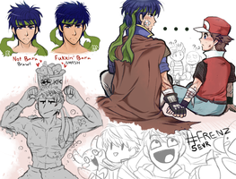 SM4SH: Ike Doodles by The-Star-Hunter