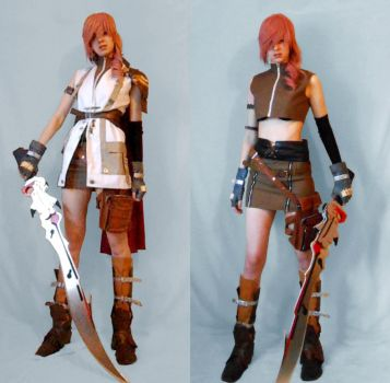Lightning Claire Farron Cosplay by Zwielichtodin