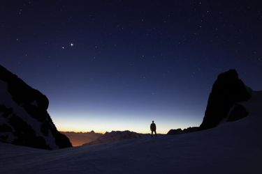 Jupiter and Venus by RobertoBertero