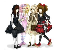Lolita Fashion by AmaneMiss