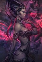 Queen of the Dead by Stanley 'Artgerm' Lau by courtofthedead