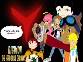 Digimon The Hard Drive Chronicles Poster 4 by AuraHero7