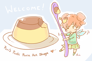 Purin art shop pic by Petshop17