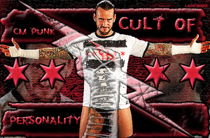 CM Punk Cult of Personality by Claine89