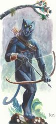 Black Panther by Crisjofreart
