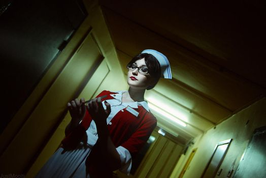 The Evil Within - Tatiana Gutierrez cosplay =) by MonoAbel