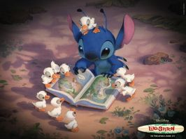 Stitch-The Ugly Duckling-I'm Lost by Lilo-Pelekai
