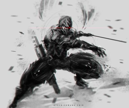 Gray Fox Reboot Fanart by benedickbana