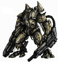 brute mech 2 by kriegsmachine14