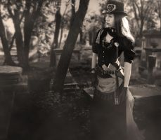 Steampunk Vampire Huntress III by NovelPashion