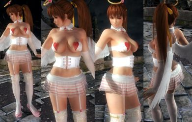 Kasumi Wings Underwear by funnybunny666