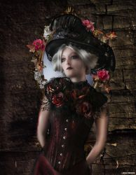 dark flowers by filth59