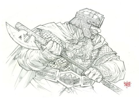 High Res - Gimli by rogercruz