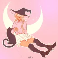 Witchy Sailor Moon by cygtree