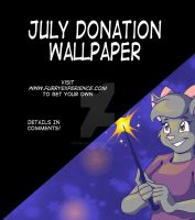 July 2015 Donation Wallpaper by Ellen-Natalie
