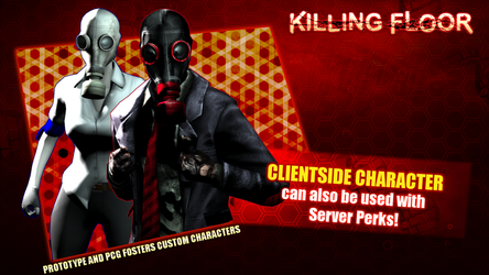 The Fosters Character Pack - Killing Floor by DMN666