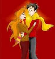 James and Lily by james-potter