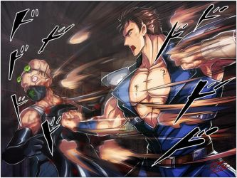 Kenshiro revenge by TheInsaneDarkOne