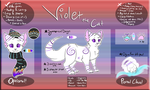Violet Reference Sheet 2016 by ThatCreativeCat