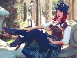 Steampunk: Anahid by Costurero-Real