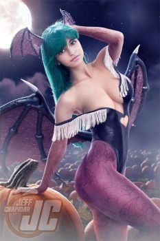 Morrigan: Darkstalkers by Jeffach